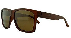 Óculos Solar Masculino Primeira Linha Polarizado P7724 Marrom