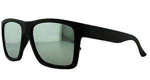 Óculos Solar Masculino Primeira Linha Polarizado P7724 Prata Espelhado