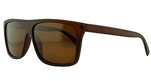 Óculos Solar Masculino Primeira Linha Polarizado P7729 Marrom