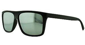 Óculos Solar Masculino Primeira Linha Polarizado P7729 Prata Espelhado