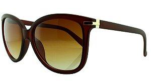 Óculos Solar Feminino 820 Marrom