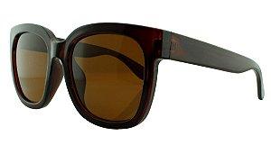Óculos Solar Feminino 681114 Marrom