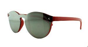 Óculos Solar Infantil Primeira Linha 17011 Prata Espelhado