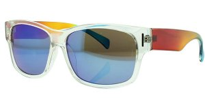 Óculos Solar Unissex NY40294 Transparente Espelhado