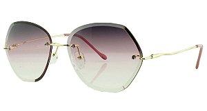 Óculos Solar Feminino Primeira Linha S31173 Roxo Degradê