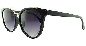 Óculos Solar Feminino AL9792 Preto Degradê