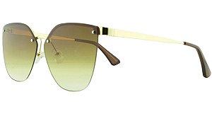 Óculos Solar Feminino Primeira Linha PR69TS Marrom Degradê