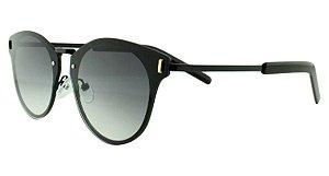 Óculos Solar Unissex Primeira Linha 8136 Preto Degradê