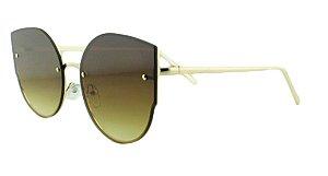 Óculos Solar Feminino AP8811 Marrom Claro Degradê