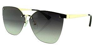 Óculos Solar Feminino Primeira Linha PR69TS Preto e Dourado