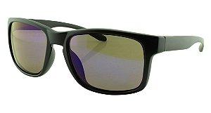 Óculos Solar Masculino Sortido M01EVR Azul Espelhado