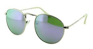 Óculos Solar Unissex Sortido VT2613 Roxo Espelhado