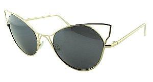 Óculos Solar Feminino Sortido HT2688 Preto