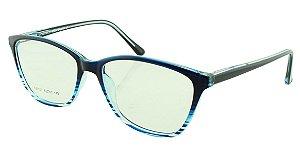 Armação para Óculos de Grau Feminino SJ0107 Azul
