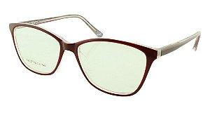 Armação para Óculos de Grau Feminino SJ0107 Vinho