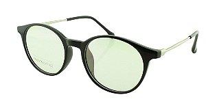 Armação para Óculos de Grau Unissex FR66017 Preta