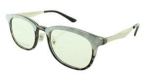 Armação para Óculos de Grau Feminino VC0601 Branca e Preta