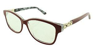 Armação para Óculos de Grau Feminino ZZ4043 Vermelha