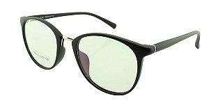 Armação para Óculos de Grau Feminino FR66002 Preta Fosca