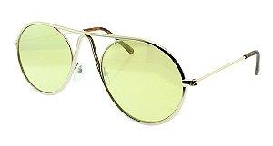 Óculos de Sol Feminino VC1020 Amarelo