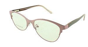 Armação para Óculos de Grau Feminino VC0707 Rosa