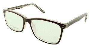 Armação para Óculos de Grau Feminino ZD4037 Marrom