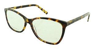 Armação para Óculos de Grau Feminino 0509 Marrom Onça
