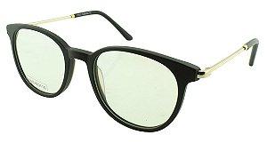 Armação para Óculos de Grau Unissex DS6660 Preta Fosca