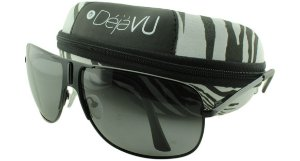 Óculos Solar Unissex Polarizado 20275R Preto com Estojo Déjàvu