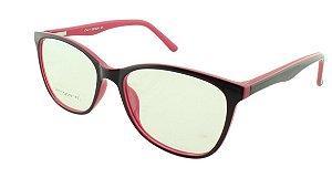 Armação para Óculos de Grau Feminino SJ0111 Roxa e Rosa