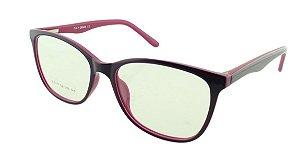 Armação para Óculos de Grau Feminino SJ0111 Roxa e Magenta