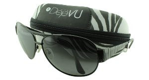 Óculos Solar Masculino Polarizado 20588R Preto com Estojo Déjàvu