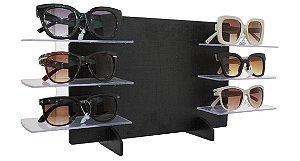 Expositor para 6 Óculos em MDF MAX6MDF Preto