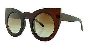 Óculos Solar Feminino Primeira Linha 97180 Marrom