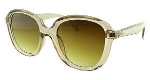 Óculos Solar Feminino VC3027 Marrom Claro Transparente