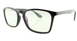 Armação para Óculos de Grau Unissex TSH7052 Preta