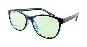 Armação para Óculos de Grau Feminino 24A Azul