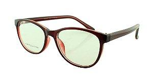 Armação para Óculos de Grau Feminino 24A Vinho