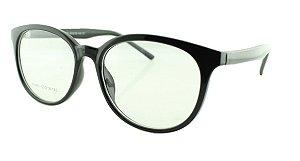 Armação para Óculos de Grau Unissex 21A Preta