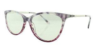 Armação para Óculos de Grau Feminino MB2439 Lilás Colorida