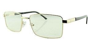 Armação para Óculos de Grau Masculino A06 Prata