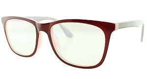fcdadaadb6e01 Armação para Óculos de Grau Feminino TSH7059 Vinho