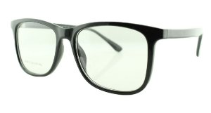 Armação para Óculos de Grau Unissex 15A Preta