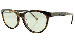 Armação para Óculos de Grau Feminino MB3003 Marrom Onça