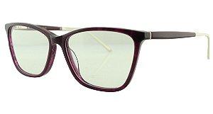 Armação para Óculos de Grau Feminino MB3497 Roxa
