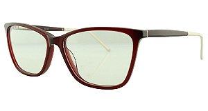 Armação para Óculos de Grau Feminino MB3497 Vinho