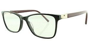 Armação para Óculos de Grau Feminino MB3388 Vinho e Preta