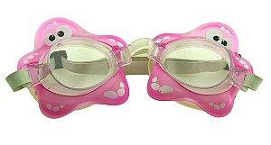 Óculos para Natação Infantil ELT00434 Estrelinha do Mar Rosa