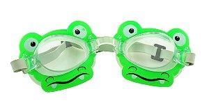 Óculos para Natação Infantil ELT00434 Jacarezinho Verde