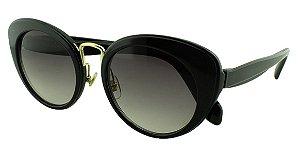 Óculos Solar Feminino Primeira Linha SMU06T Preto Degradê